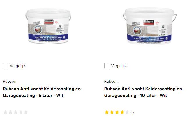 Rubson producten